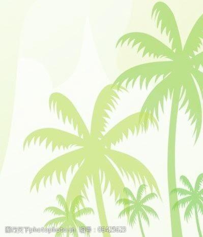 椰子树笔刷图片素材青墨室内设计工作室图片