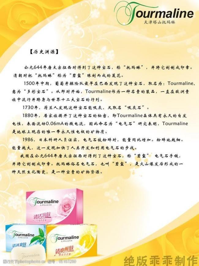 柠檬时尚托玛琳宣传册图片