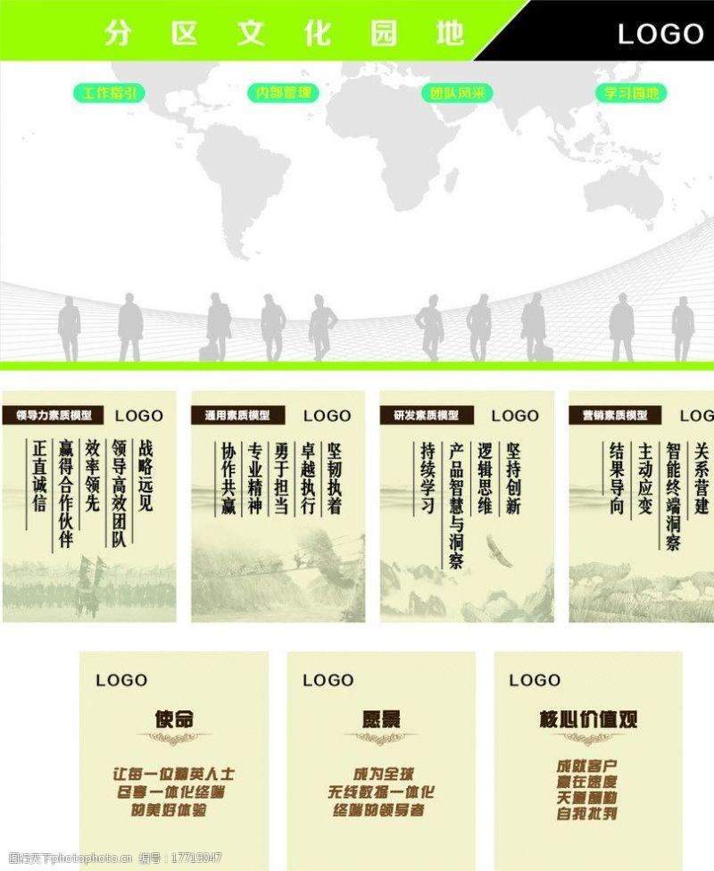 红旗榜企业文化墙图片