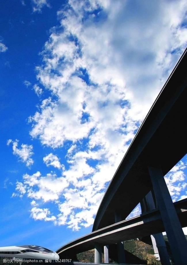 高铁桥立交桥图片