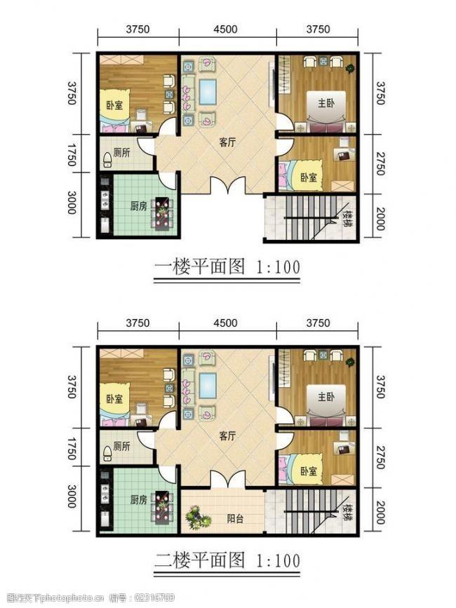 个人房屋平面图室内平面图图片