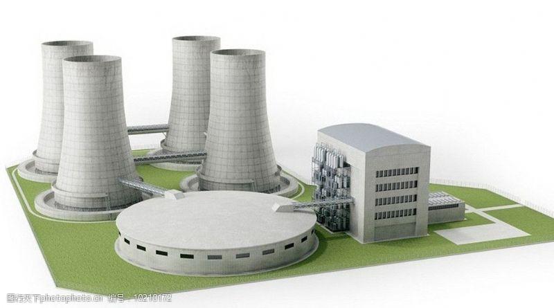 环保器材火力发电站图片