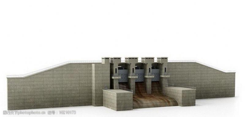 环保器材水力发电站图片