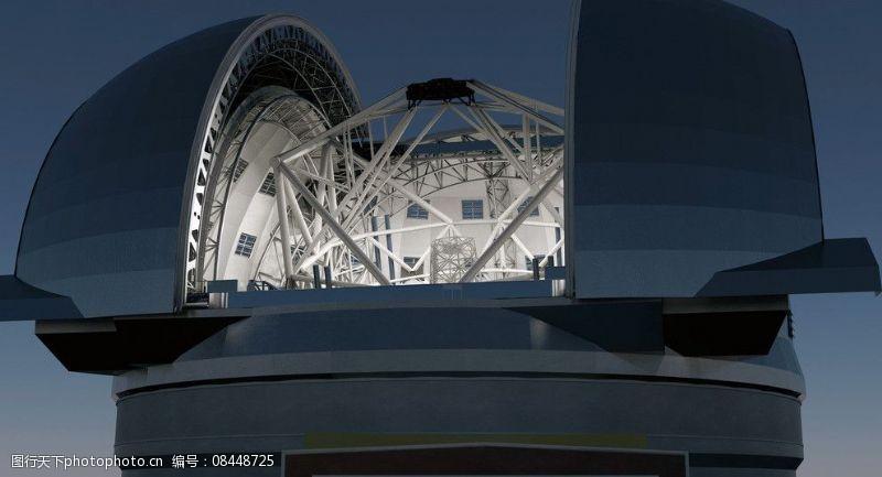 亚毫米波天线阵阿塔卡马天文望远镜图片