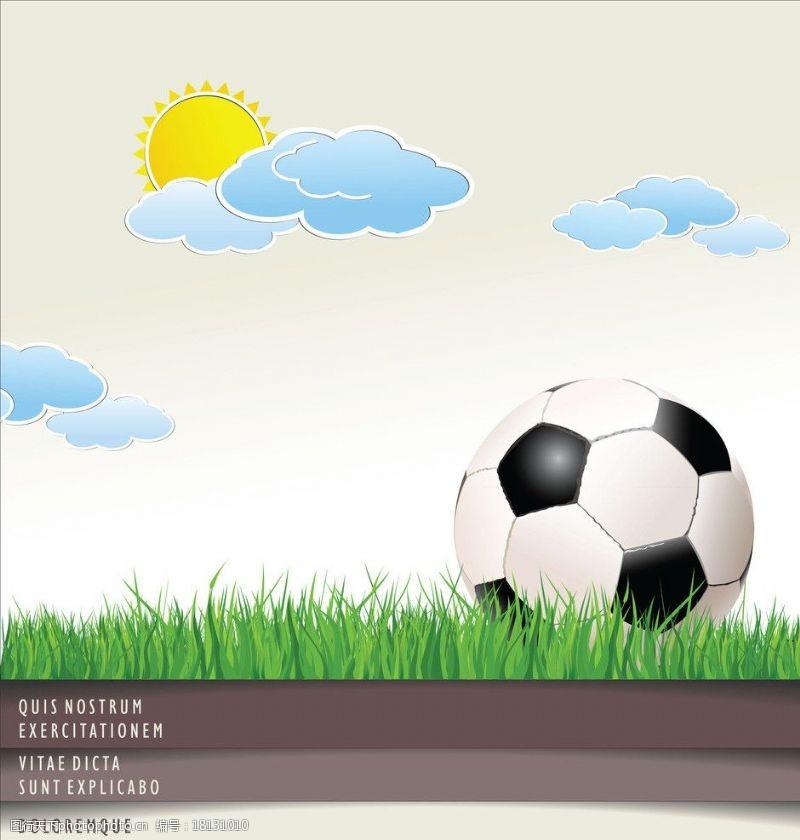 足球主题矢量素材矢量足球球主题图片