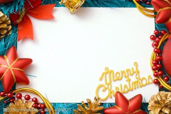 圣诞节饰物边框7——高清图片