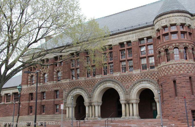 harvard哈佛大学校园图片