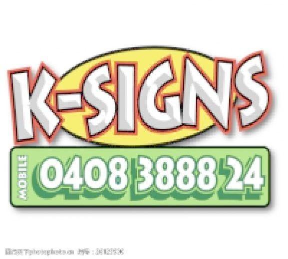 k-signs