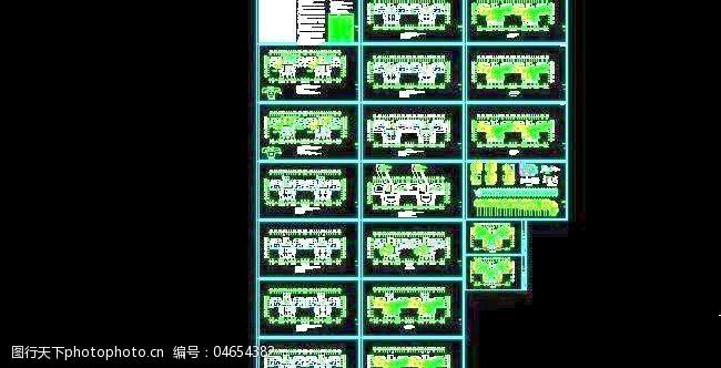 26层住宅低温地板辐射采暖及防排烟设计图