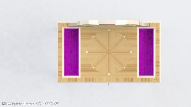 橱柜制作装饰艺术的梳妆台