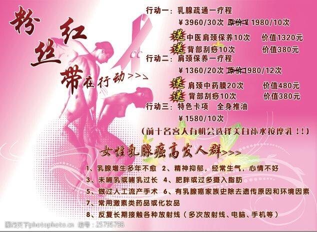 粉红丝带-关注女性健康