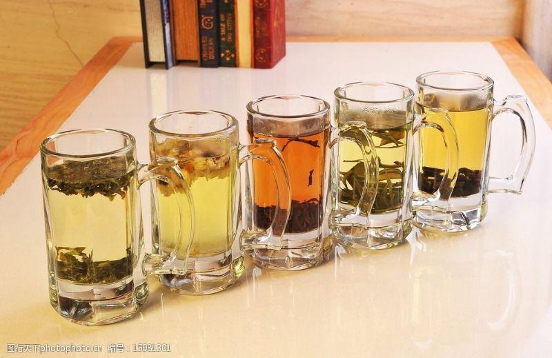 茶组合图片