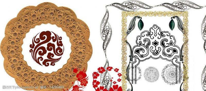 古典时尚设计花纹图片